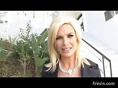 Diamond Foxxx - Stunning Blonde Milf