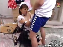 Horny Maid Gets Fucked From Behind