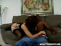 Tia Sweet Fucks A Black Cock   Big Butt Teen Sluts