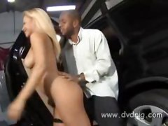 Brazilian Slut Melissa Pitanga Gets Screwed In The Ass In The Back Of A Luxury Suv By A Horny Black Stud