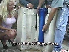 King Dong Tearing Slut Cunt