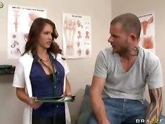 Busty Doctor Emergency Aid