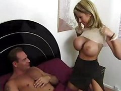 Blonde Mature With Huge Boobs