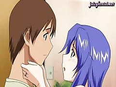 Two Anime Babes Enjoying A Cock