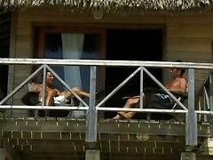 Beach House Threesome - Kd