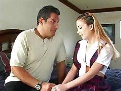 Teen Babysitter Sabrina Jade Does Daddy