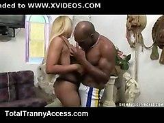 Cute Tranny Abused