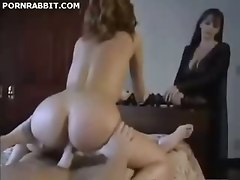 Fucking The Maid In Front Of His Wife