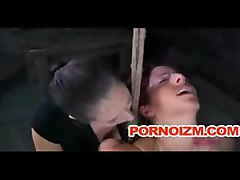 Lesbian Bdsm Torture Of Slave Lavander