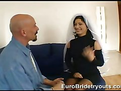 Sharon At Euro Bride Tryouts