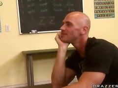 Busty Shameless Teacher Is A Dream Of Any Guy!