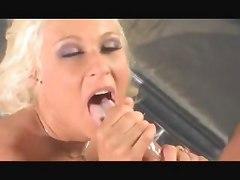 Cindy Crawford Sucks Huge Cock For Messy Facial