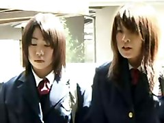Japanese Teens Rape A Nerdy Girl