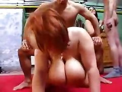 Chubby Chicks In A Wild Orgy Scene
