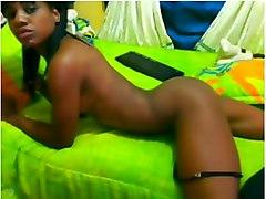 Ebony Slim Freak Teasing  Showing  Amp Amp  Touching