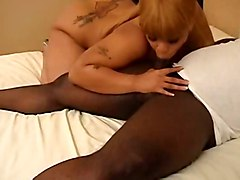 Lady Snow Ebony Slut Craves Cick