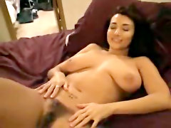 Young Couple Hairy Pussy Cumshot Orgasm