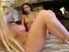 Ladyboys Dick For Brunette Girl