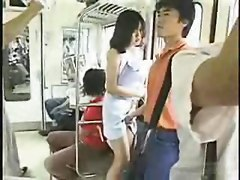 Japanese Grouping - Fun In The Bus -  Uncensored