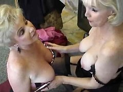Two Granny Sluts Hooking Up