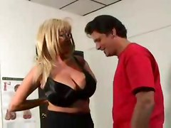 Hot Mature Busty Blonde