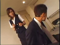 Asian Student Ties Up Her Teacher