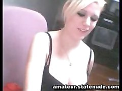 Blond Has More Fun On Cam