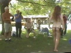 Fun At A Nudist Rally 22