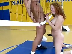 Fucking In The Gym Court