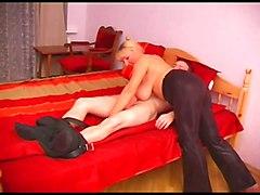 Russian Mature Bbw & Her Young Boyfriend