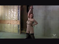 Redhead Teen Tied And Abused