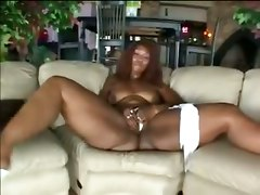Mature Ebony Girls Takes It