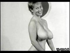 Busty Vintage Retro Babe Virginia Bell