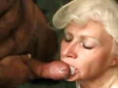Blonde Mom Sucks A Fat Dick