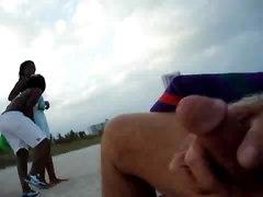 Beach Cum Shot