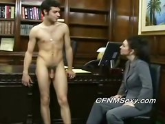 Tims Boss Fucks Him In The Ass After Spanking And Vibrator