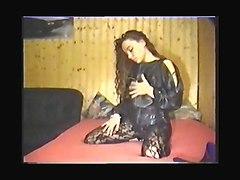 Netz Dress Fetisch Girl
