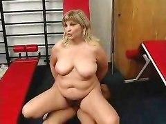German Granny At Gym