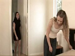 Beautiful Young Girl Seduced By Mature Lesbian - Anna & Elexis