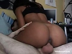 Ebony Mistress Riding Me