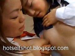 Milky Asian Lesbians 5