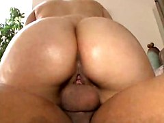 Black Guy Makes Mya Ride His Big Dick Then Fucks Juicy Latin Pussy Doggystyle