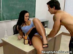 Nauthy Student Eats Out Teachers Pussy!