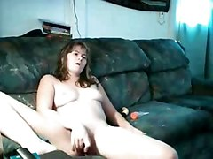 Cute Young Lady Tape Video For Hubby In Iraq