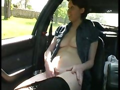 Outdoor Threeway Sex With Street Whore