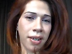 Mad Sex With A Tranny In Fishnet