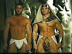 Gay Bear Muscle Men Pharoah Orgy