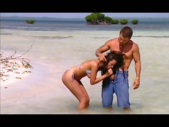 Fantastic Lady Anal Beach Sex
