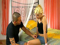 Hot Blonde Girl Pussy Fucked