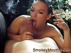 Keira Pharell Smoking Blowjob Keira Smoking Blowjob